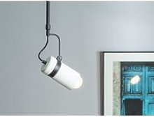 Lampe suspension blanc orco 82741