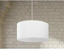 Lampe suspension blanche elbe 13177