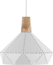 Lampe suspension blanche SOMME