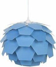 Lampe suspension bleu petit abat-jour segre 72763