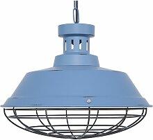 Lampe suspension bleu SORMONNE