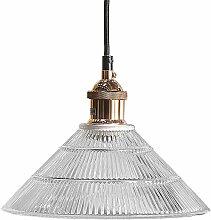 Lampe suspension cuivrée CURONE