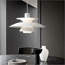 Lampe suspension de style nordique de style
