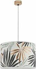 Lampe Suspension Design hoja 125cm Chêne Huilé -