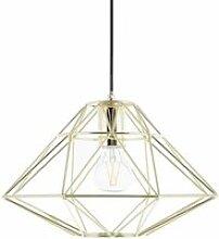 Lampe suspension doré guam 82125