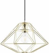 Lampe suspension doré GUAM