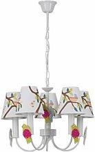 Lampe Suspension Enfant birdy 99cm Multicolore -