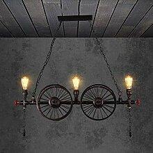 Lampe Suspension Industrielle De Tuyau d'eau