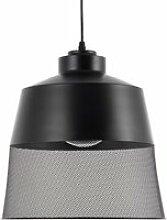 Lampe suspension noir muga 81697