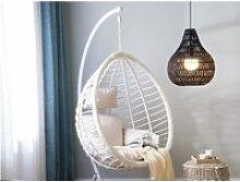 Lampe suspension noire molopo 131538