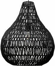 Lampe suspension noire MOLOPO