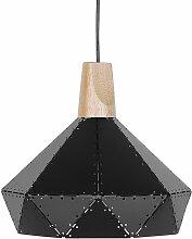 Lampe suspension noire SOMME