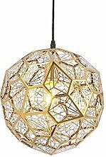 Lampe Suspension Nordique Lustre,Moderne Acier