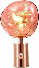 Lampe Table Sphérique Galvanoplastie Lampe Bureau