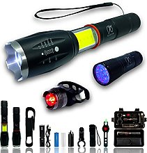 Lampe Torche LED Ultra Puissante Rechargeable