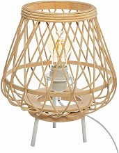 Lampe Trépied Bambou Ritual - Beige