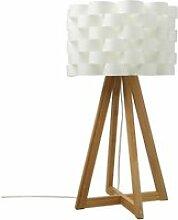 Lampe trépied moki bambou atmosphera