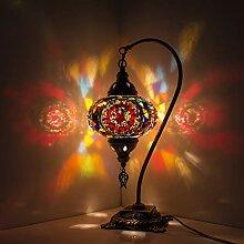 Lampe turque / marocaine faite à la main Lampe de