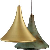 Lampe vintage laiton Lily