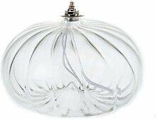 Lampe votive de grande taille en verre soufflé