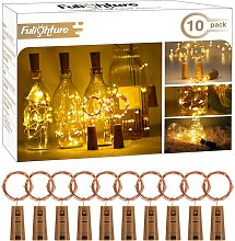 Lampes de Bouteille,LED Bouteille Lumière,2M