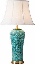 Lampes de bureau Céramique américaine Lampe de