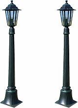 Lampes de jardin 2 pcs 105 cm