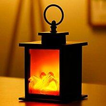 Lampes de lanterne de flamme de LED simulées