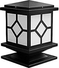 Lampes de pilier Capuchon de poteau extérieur