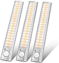 Lampes de placard à capteur de mouvement PIR sans