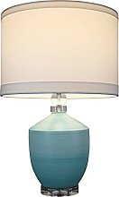 Lampes De Table De Chevet Lampes de table bleue