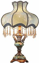 Lampes de table Dkee Lampe de table antique chaude