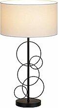 Lampes de table MGWA Lampe de bureau Iron Simple