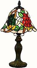 Lampes de Table Tiffany rétro 8 Pouces Verre