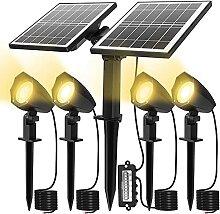 Lampes Solaires Exterieures CLY Projecteur LED