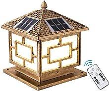 Lampes Solaires Extérieures De Capuchon De