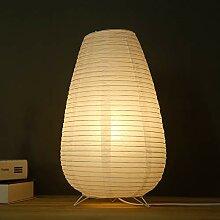 Lampes sur pied de style japonais, lampadaires