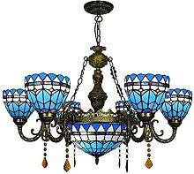 Lampes Suspendues De Style Tiffany, Plafonnier