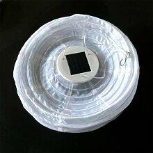 Lampion solaire d'extérieur, boule de papier