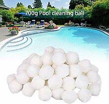 Lamta1k Balle de filtre pour piscine 700 g