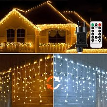 LangRay Rideau Lumineux, 440 LED Guirlande