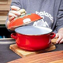 LANMEISM Pot de Soupe Marmite à Soupe Marmite