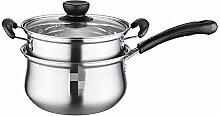 LANMEISM Pot de Soupe Pot de Lait marmite à Soupe