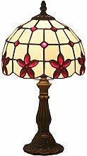 LANMOU 8 Pouces Tiffany Lampes de Table Vintage