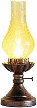 LANMOU Lampe à Pétrole Vintage Industriel,