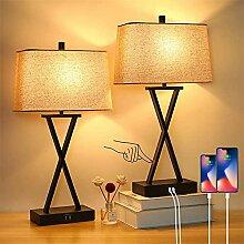 LANMOU Lampe de Chevet Contrôle Tactile, Lampe de