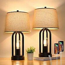 LANMOU Lampe de Chevet Dimmable LED, Lampe de