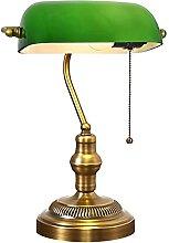 LANMOU Lampe de Table de Banquiers, E27 Lampe de