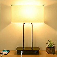 LANMOU Lampe de Table Tactile Dimmable, Lampe de