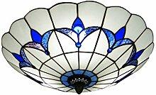 LANMOU Plafonnier de Style Tiffany Lampe de